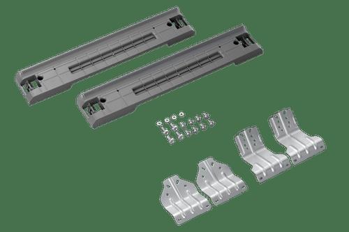 Kit de Empilhamento para Par de Lavadora e Secadora com Porta Frontal com 27 pol. de Largura
