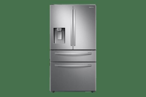 Geladeira French Door RF22R Inox com Food Showcase e gaveta FlexZone™, 501 L